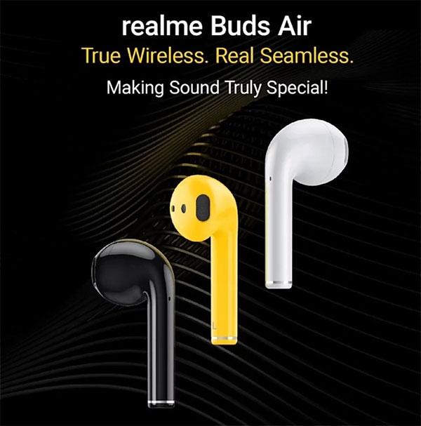 OPPO Realme kablosuz kulaklık