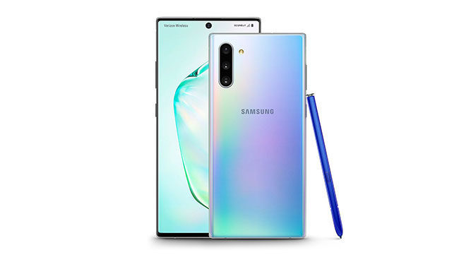 Samsung Galaxy Note 10 Galaxy Note 10 Plus Android 10