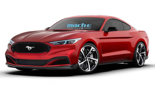 Tamamen elektrikli Ford Mustang nasıl görünürdü?