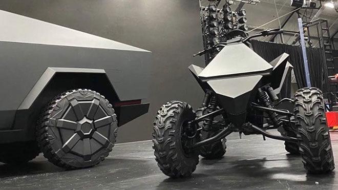 Tesla Cyberquad ATV