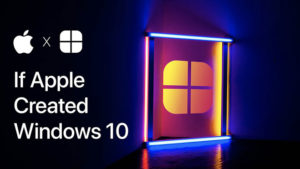 windows 10 apple