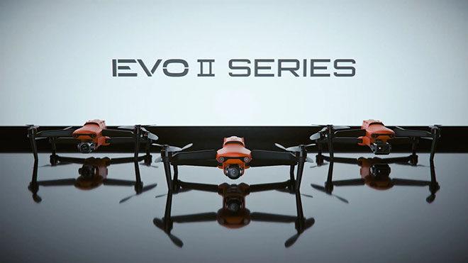 evo 2 drone 8K video