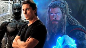 Christian Bale Thor: Love & Thunder