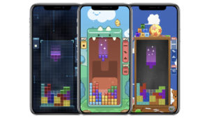 Android iOS Tetris
