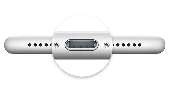 Apple ortak şarj girişi