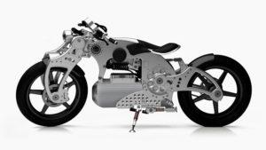 Elektrikli motosiklet Curtiss Hades