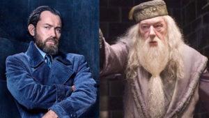 Harry Potter yazarı J.K. Rowling den Jude Law a Dumbledore dersi