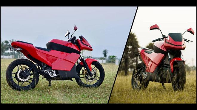 eMotion Surge elektrikli motosiklet