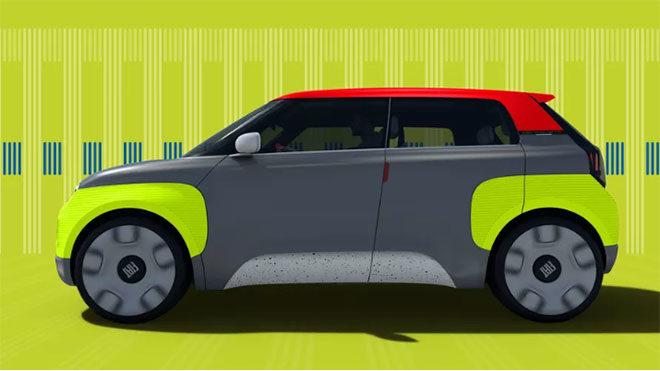 Fiat Foxconn elektrikli otomobil