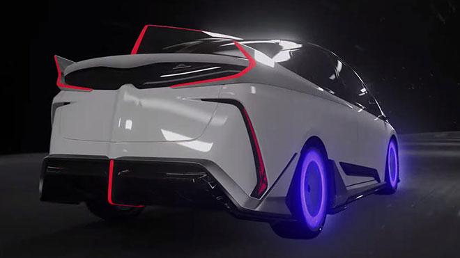 Ambivalent RD Prius PHV Concept ile Toyota Prius Prime