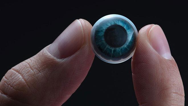 artırılmış gerçeklik temelli bir kontakt lens