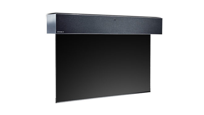 LG yuvarlanabilir televizyon