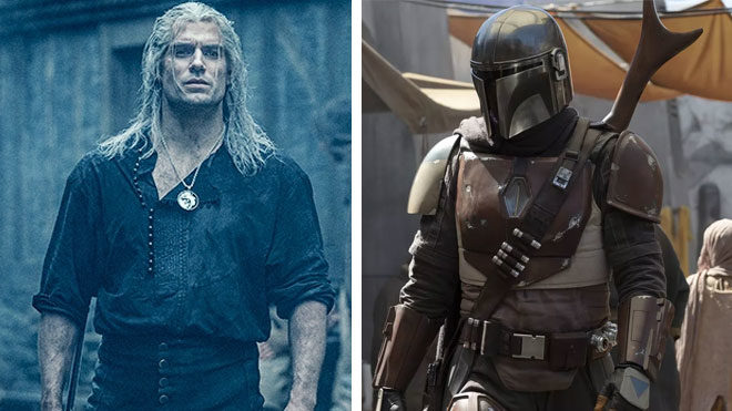 Netflix The Witcher The Mandalorian