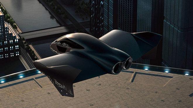 Porsche Boeing uçan araç