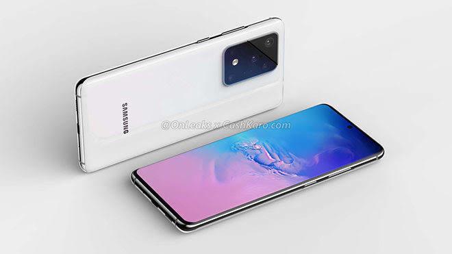 Samsung Galaxy S20 120 Hz