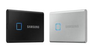 Samsung T7 Touch taşınabilir SSD