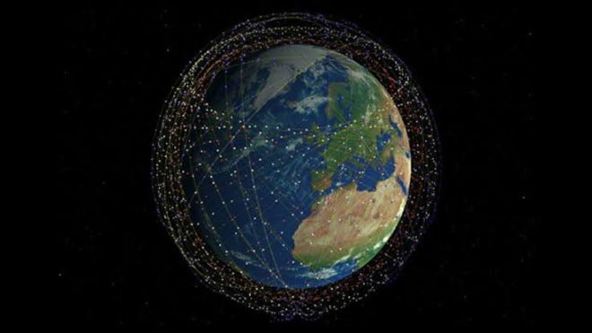 SpaceX Starlink uzaydan internet