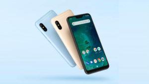 Xiaomi Mi A2 Xiaomi Mi A3