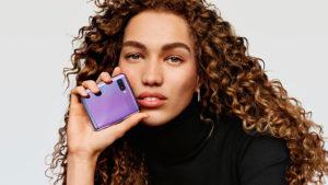 Samsung Galaxy Z Flip katlanabilir telefon