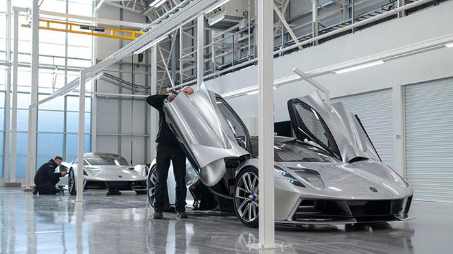 Lotus Evija elektrikli otomobil