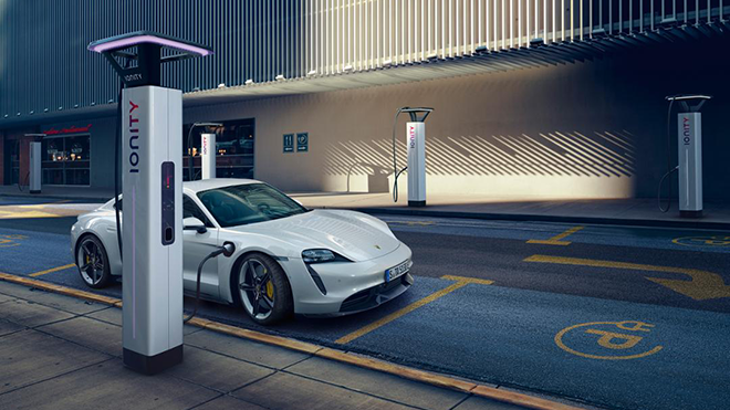 Porsche hızlı şarj