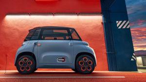 Citroen Ami elektrikli otomobil