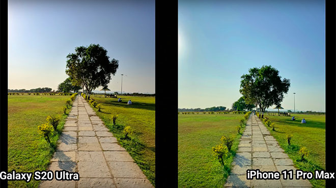 Samsung Galaxy S20 Ultra iPhone 11 Pro Max