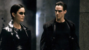 Matrix 4 setinden Neo ve Trinity'i buluşturan sahne