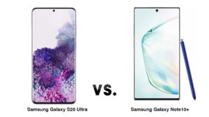 Samsung Galaxy S20 Ultra Galaxy Note10+