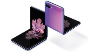 Samsung Galaxy Z Flip-katlanabilir telefon