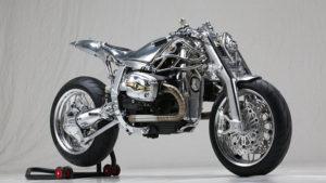 BMW R1100S motosiklet üstüne kurulan yeni yaşam formu!