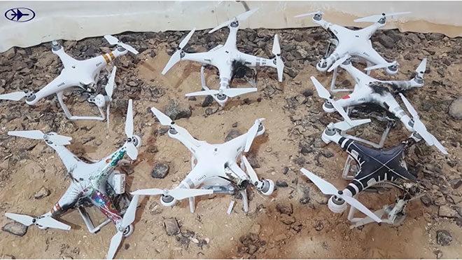drone silahı lazer