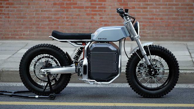 eSCRAMBLER elektrikli motosiklet