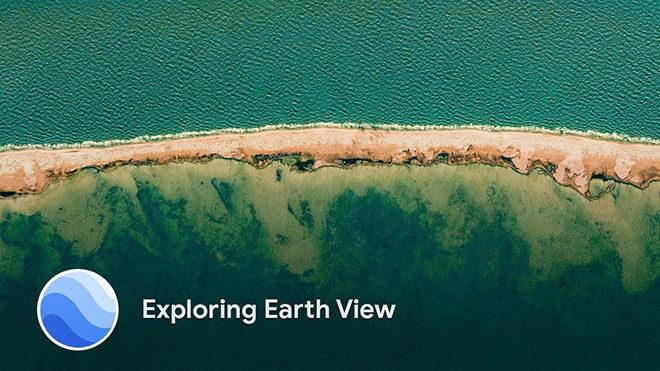 Google Earth View, duvar kağıdı