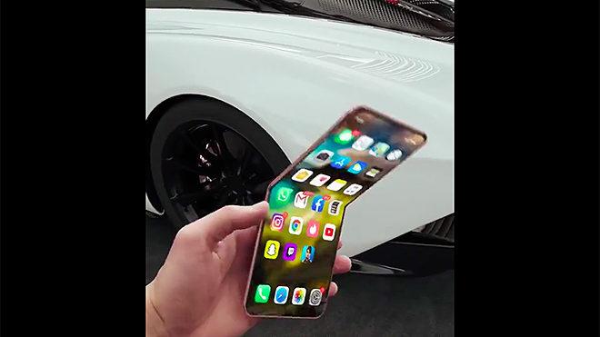 iPhone 12 Flip katlanabilir telefon