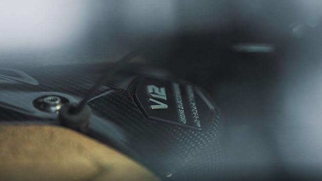 Lamborghini V12 motor sesi