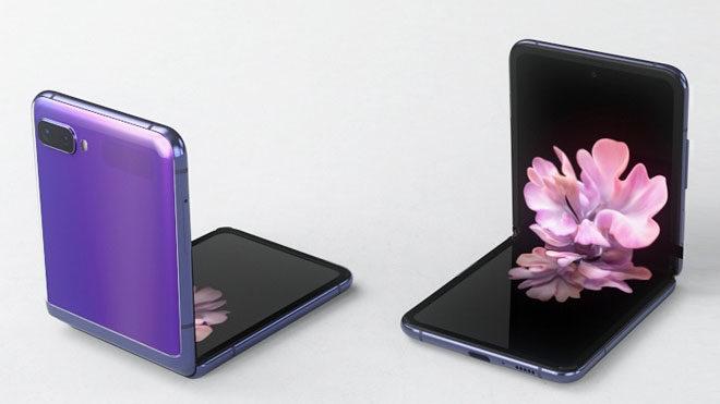 katlanabilir telefon samsung galaxy z flip