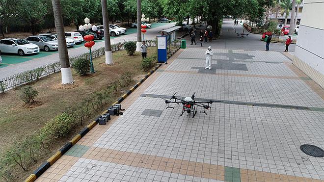 DJI drone koronavirüs