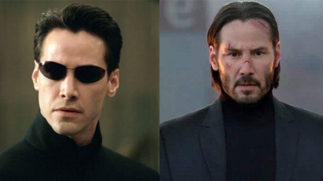 Matrix 4 John Wick 4 Keanu Reeves
