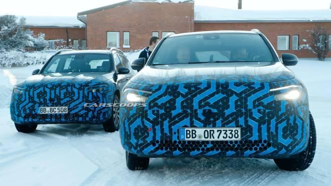 Mercedes elektrikli otomobil ailesinin iki yeni üyesi kış ...