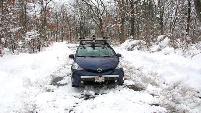Sürücüsüz otomobil MIT