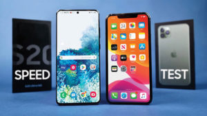 Samsung Galaxy S20 Ultra ve iPhone 11 Pro Max