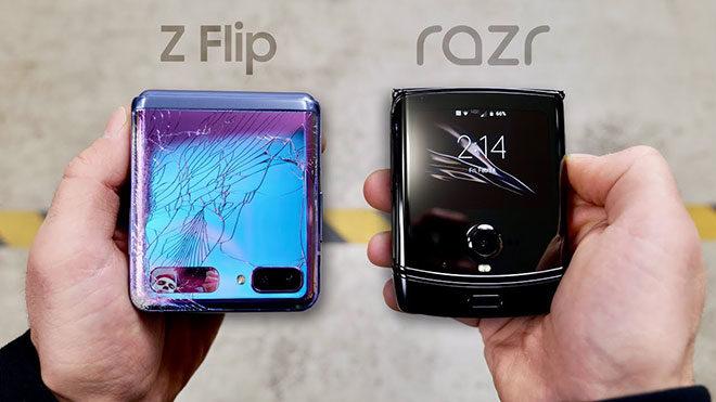 Samsung Galaxy Z Flip ve 2020 Motorola Razr