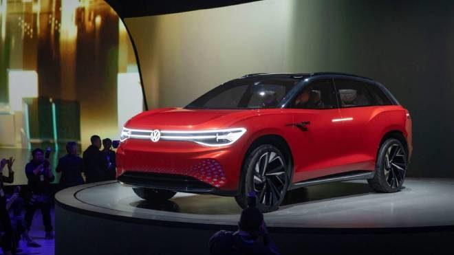 Volkswagen elektrikli SUV