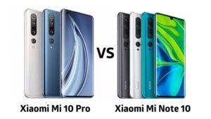 Xiaomi Mi 10 serisi ve Xiaomi Mi Note 10