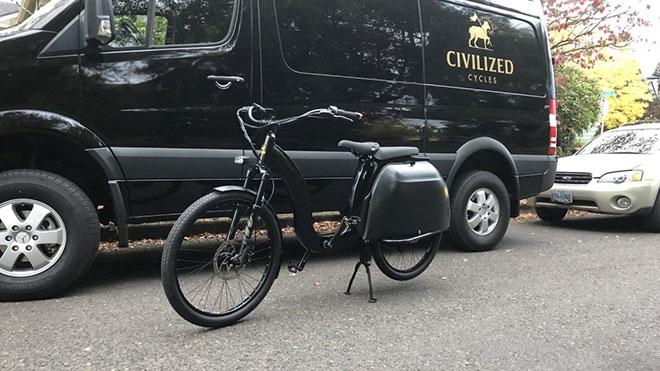 Civilized Cycles Model 1 elektrikli bisiklet