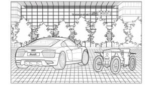 Audi boyama kitabı