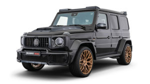 Brabus 800 Black & Gold Edition G63
