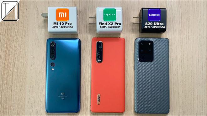 Oppo Find X2 Pro Xiaomi Mi 10 Pro