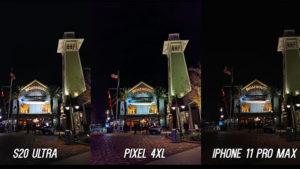 Samsung Galaxy S20 Ultra iPhone 11 Pro Max Google Pixel 4 XL